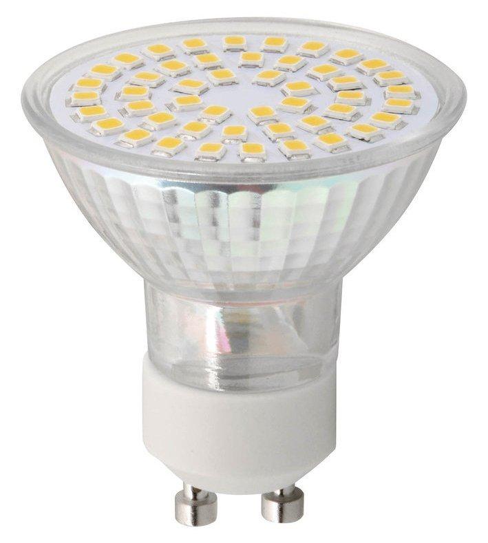 LED bodová žárovka 4W, GU10, 230V, teplá bílá, 281lm