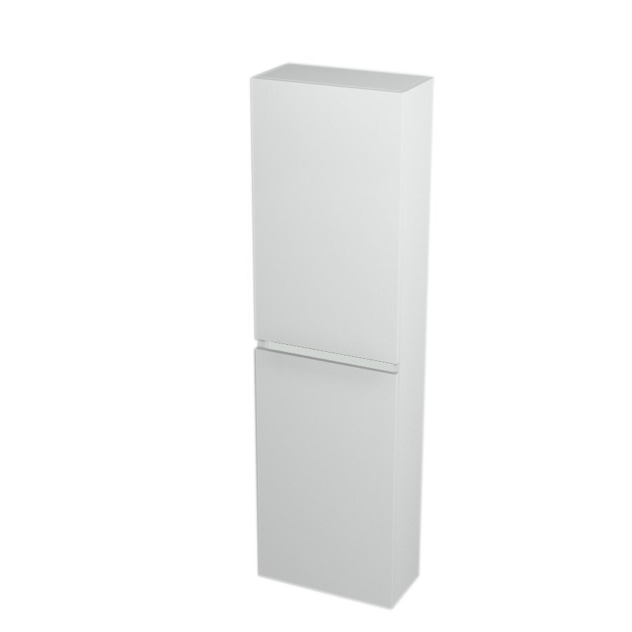 Skříňka vysoká 40x140x20cm, levá/pravá, bílá