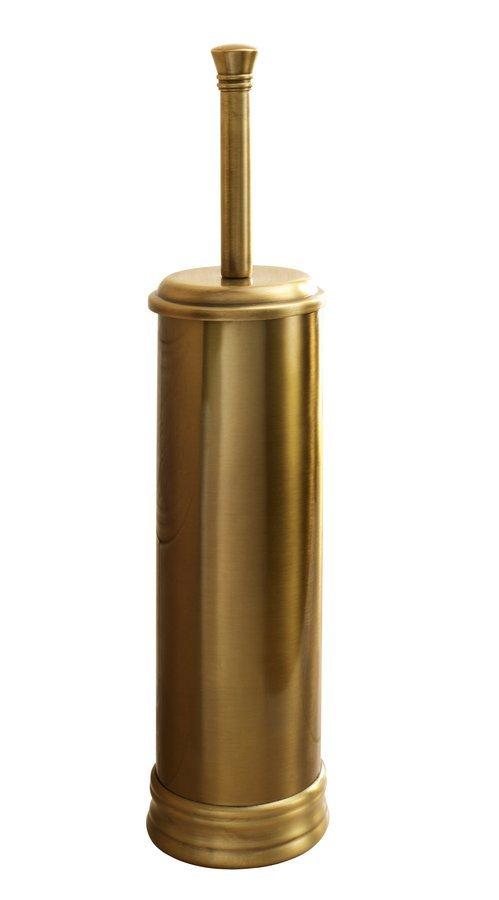 WC štětka na postavení, bronz