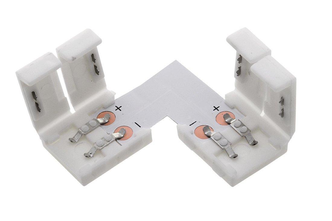 Spojovací L konektor LED pásků s chipem 3528, 2835