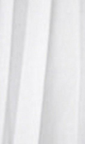 Sprchový závěs 180x200cm, vinyl, bílá