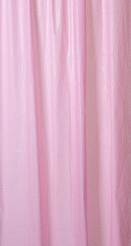 Sprchový závěs 180x200cm, vinyl, růžová