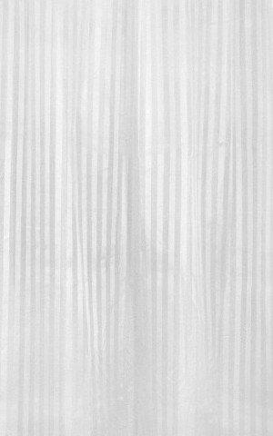 Sprchový závěs 180x200cm, polyester, bílá