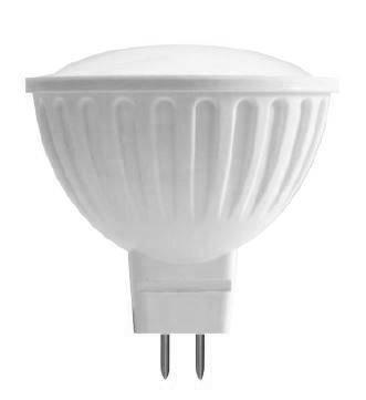 LED bodová žárovka 6W, MR16, 12V, teplá bílá, 480lm