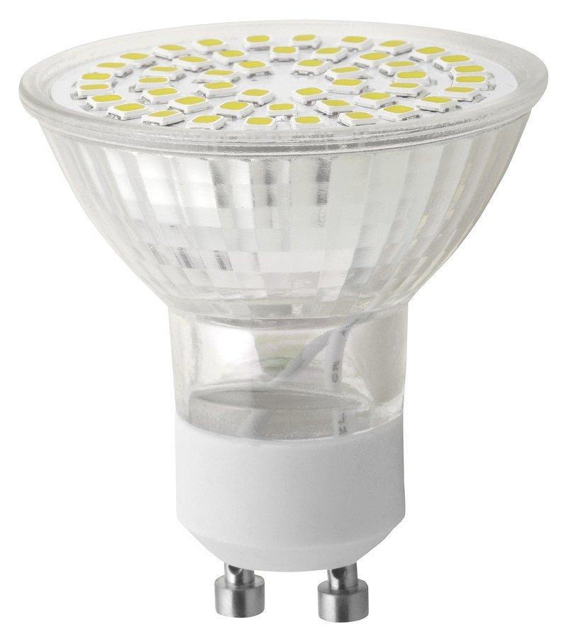 LED bodová žárovka 4W, GU10, 230V, denní bílá, 300lm