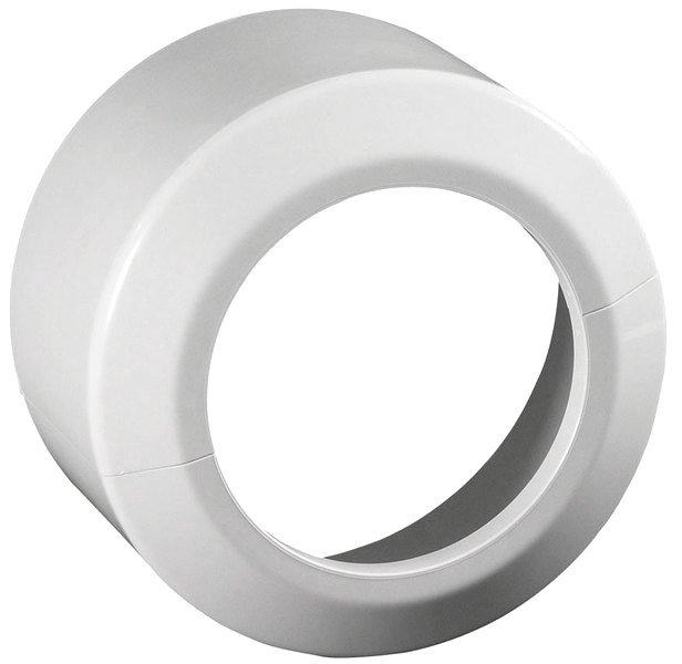 Krycí rozeta napojení WC průměr 110, výška 100 mm