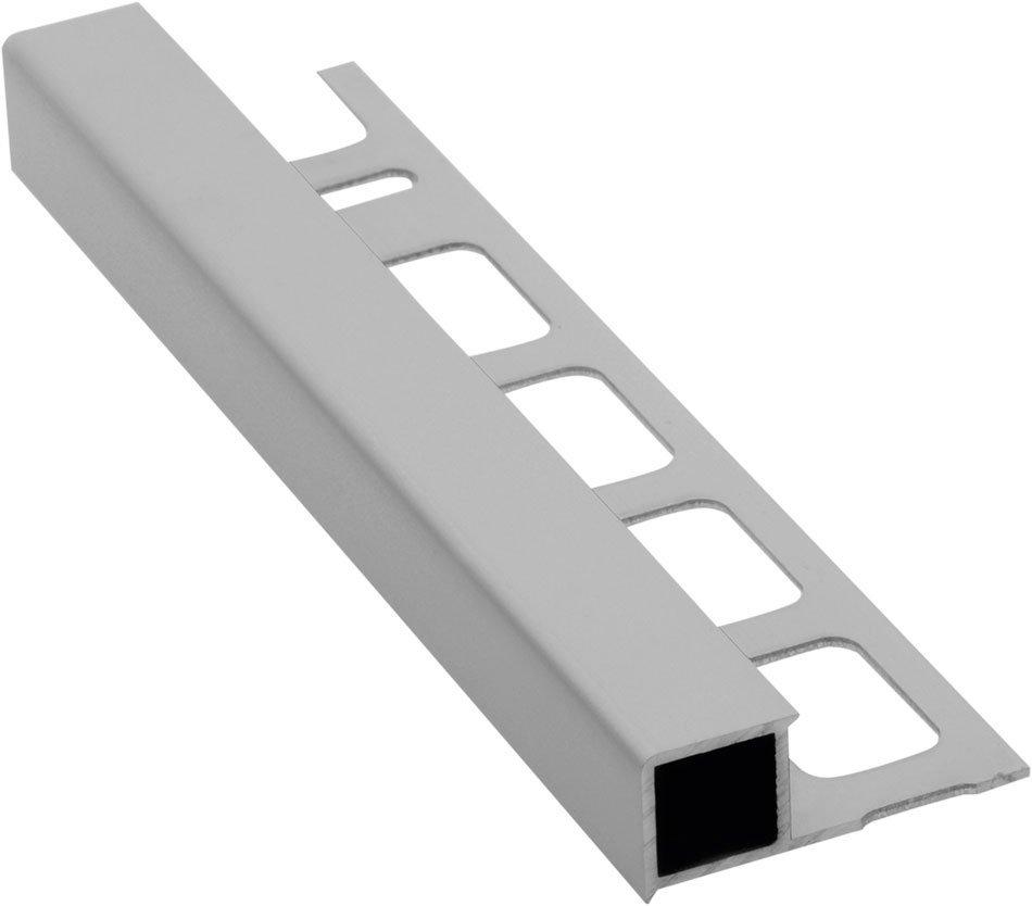 Lišta k obkladům H, matný eloxovaný hliník, L250cm, 8mm