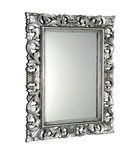 Photo: SCULE mirror with frame, 70x100cm, Silver Antique