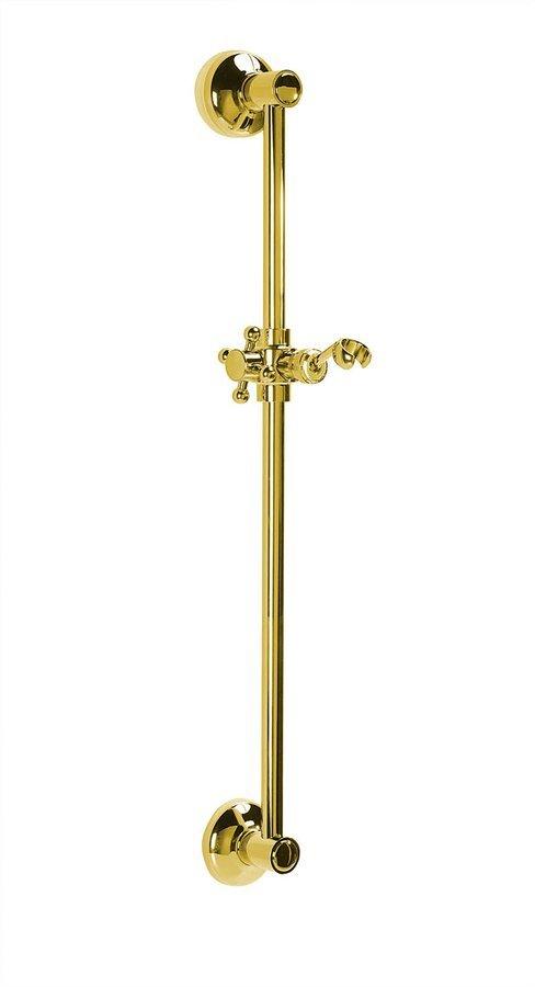 ANTEA posuvný držák sprchy, 570mm, zlato