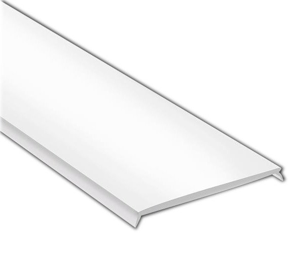 Mléčný kryt LED profilu KL6367-2, 2m
