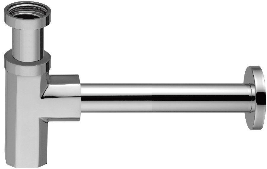SPY umyvadlový sifon 1'1/4, odpad 32 mm, chrom