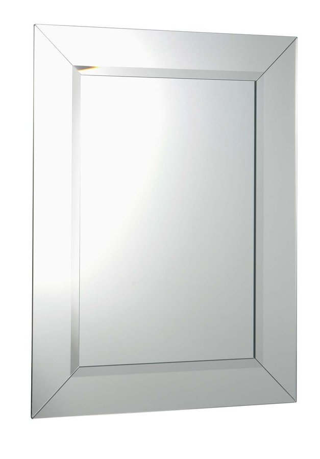 ARAK zrcadlo s lištami a fazetou 60x80cm