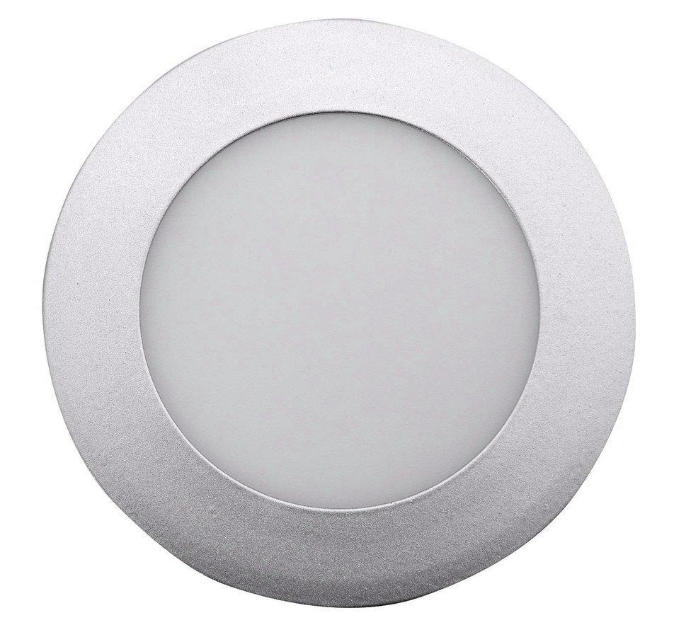 START LED podhledové svítidlo, 6W, 230V, 120mm, denní bílá, 390lm, stříbrná