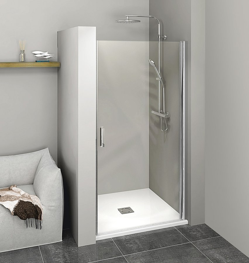 ZOOM LINE sprchové dveře 900mm, čiré sklo