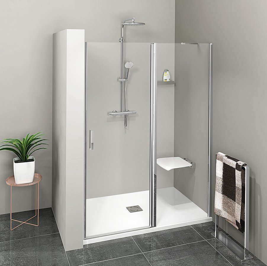 ZOOM LINE sprchové dveře 1000mm, čiré sklo