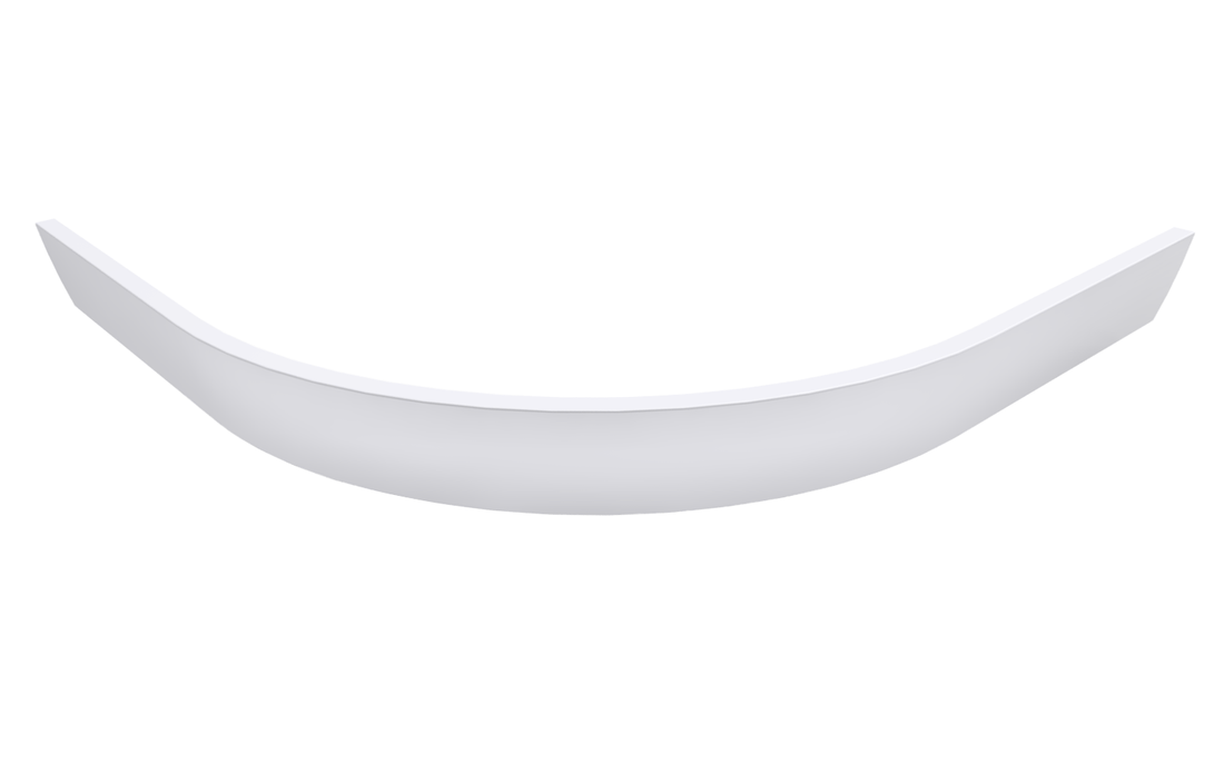 LUSSA 90 R55, čelní panel 110mm, bílá