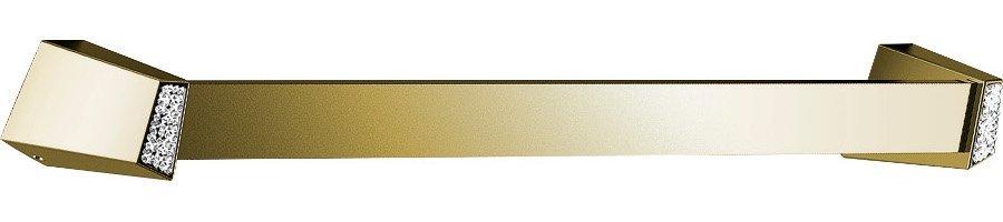SOUL CRYSTAL držák ručníků 300 mm, zlato