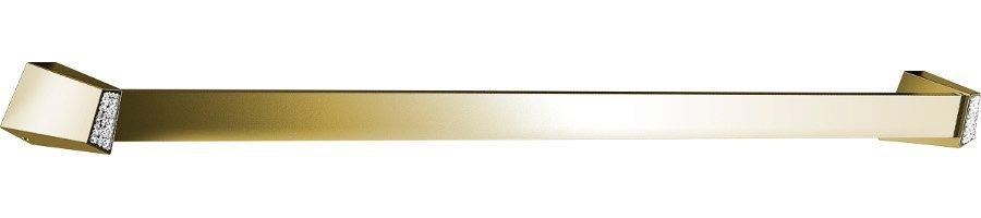 SOUL CRYSTAL držák ručníků 750 mm, zlato