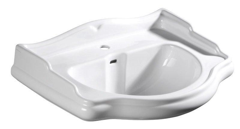 RETRO keramické umyvadlo 56x46,5cm