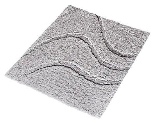 LA OLA předložka 55x50cm s protiskluzem, polyester, šedá
