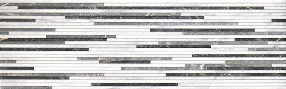BIANCO Strip Blanco 25x80 (bal.= 1,2 m2)