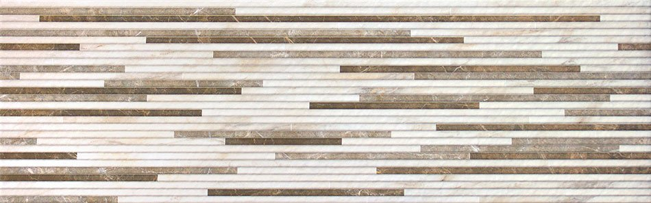 BIANCO Strip Crema 25x80 (bal.= 1,2 m2)