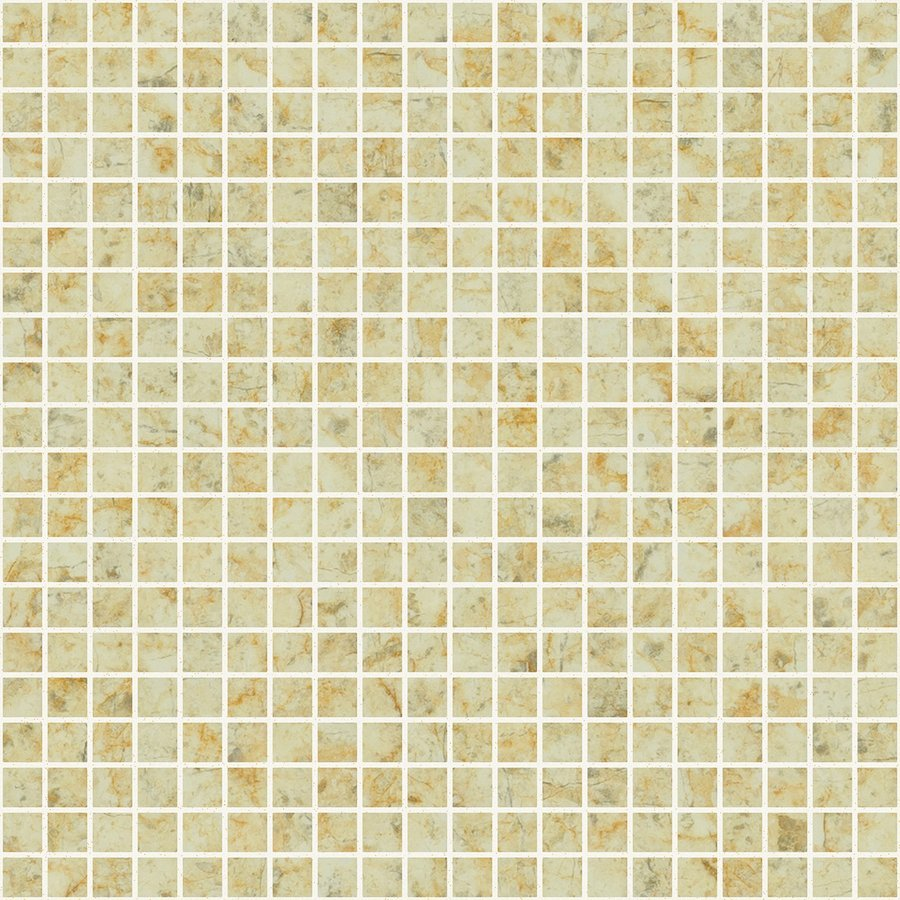 ZEN Sandstone Glass mosaic 25x25 mm (plato 31,2x49,5) (bal.= 2,00m2)