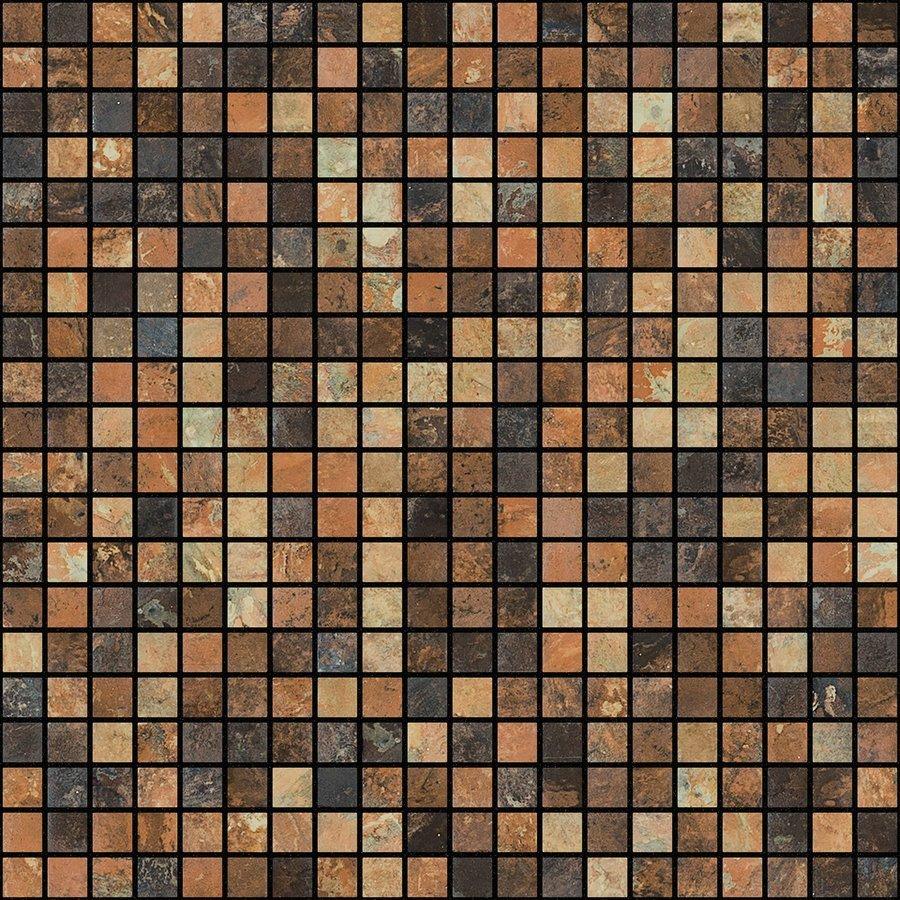 ZEN Riverstone Glass mosaic 25x25 mm (plato 31,2x49,5)