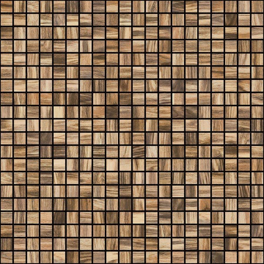 ZEN Palisandro Glass mosaic 25x25 mm (plato 31,2x49,5) (bal.= 2,00m2)