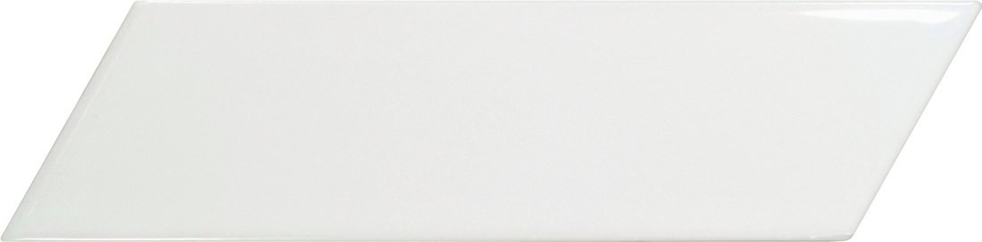 CHEVRON WALL White Matt Left 18,6x5,2 (EQ-3) (1bal=0,5m2)