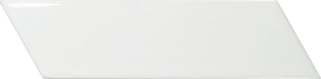 CHEVRON WALL White Matt Right 18,6x5,2 (EQ-3) (1bal=0,5m2)