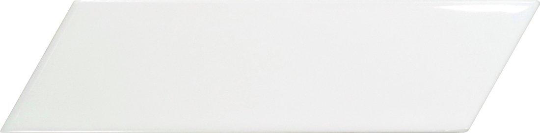 CHEVRON WALL White Left 18,6x5,2 (EQ-3) (1bal=0,5m2)