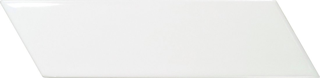 CHEVRON WALL White Right 18,6x5,2 (EQ-3) (1bal=0,5m2)