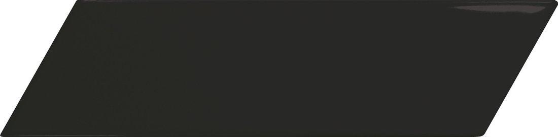 CHEVRON WALL Black Matt Left 18,6x5,2 (EQ-4) (1bal=0,5m2)
