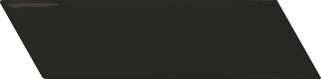 CHEVRON WALL Black Matt Right 18,6x5,2 (EQ-4) (1bal=0,5m2)