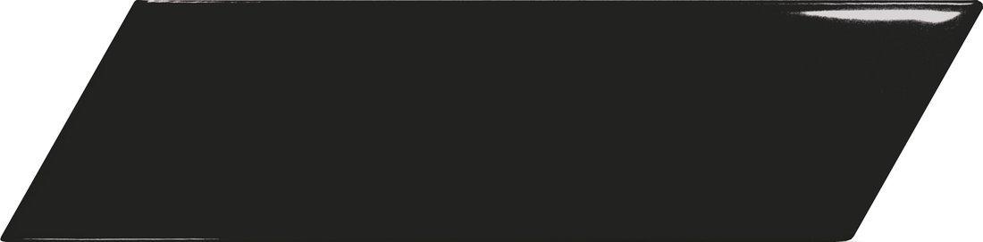 CHEVRON WALL Black Left 18,6x5,2 (EQ-4) (1bal=0,5m2)