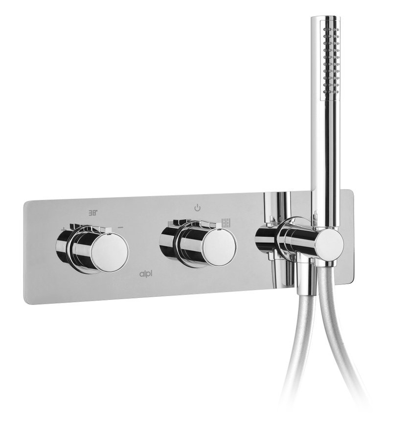 RHAPSODY pod. sprch. termost. baterie s ruční sprchou,2 výst.,chrom