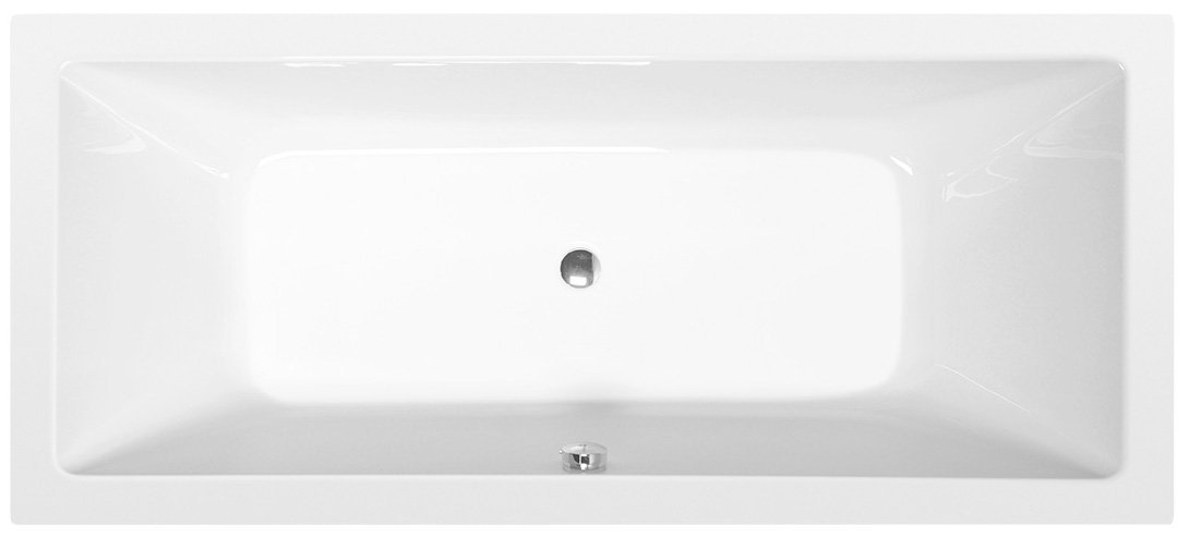KRYSTA obdélníková vana 180x70x39cm, bílá