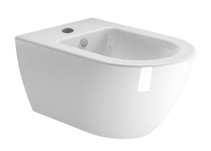 PURA bidet závěsný, 55x36 cm, bílá ExtraGlaze