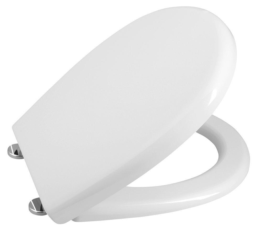 WC sedátko, duroplast, bílá (serie Sentimenti, Soluzione)