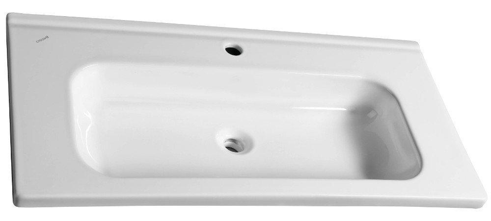 IDEAL keramické umyvadlo bez přepadu 100x45 cm