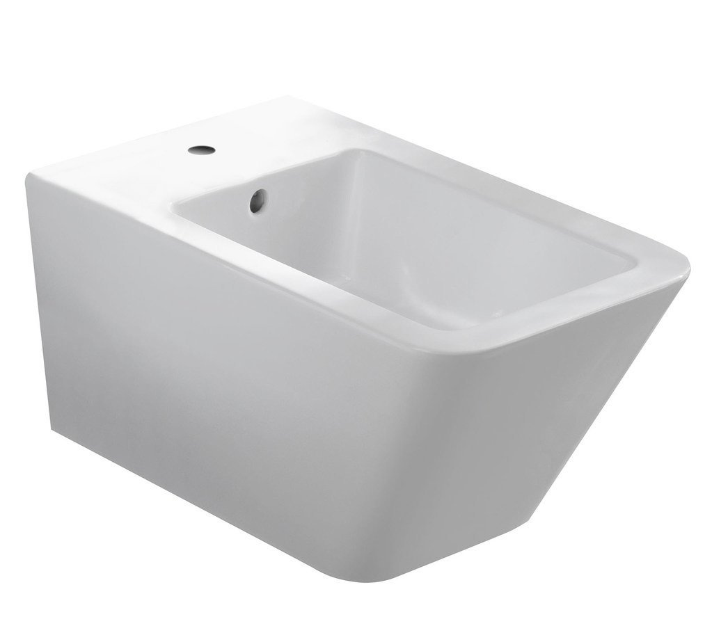 STORM bidet závěsný, 36x55 cm, bílá