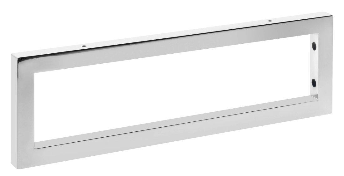 Podpěrná konzole 490x150x25mm, chrom, 1 ks