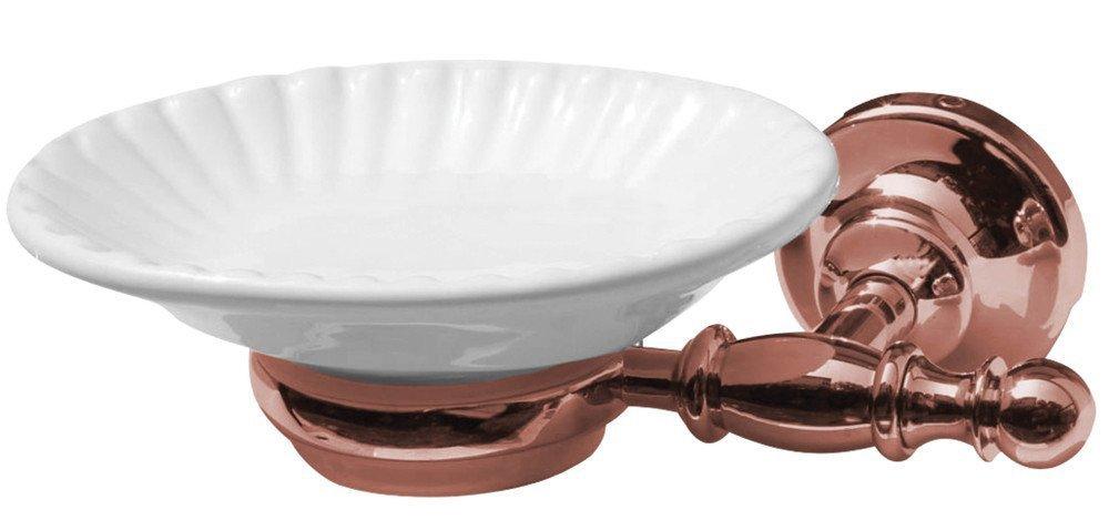 PERLA mýdlenka, keramika, růžové zlato