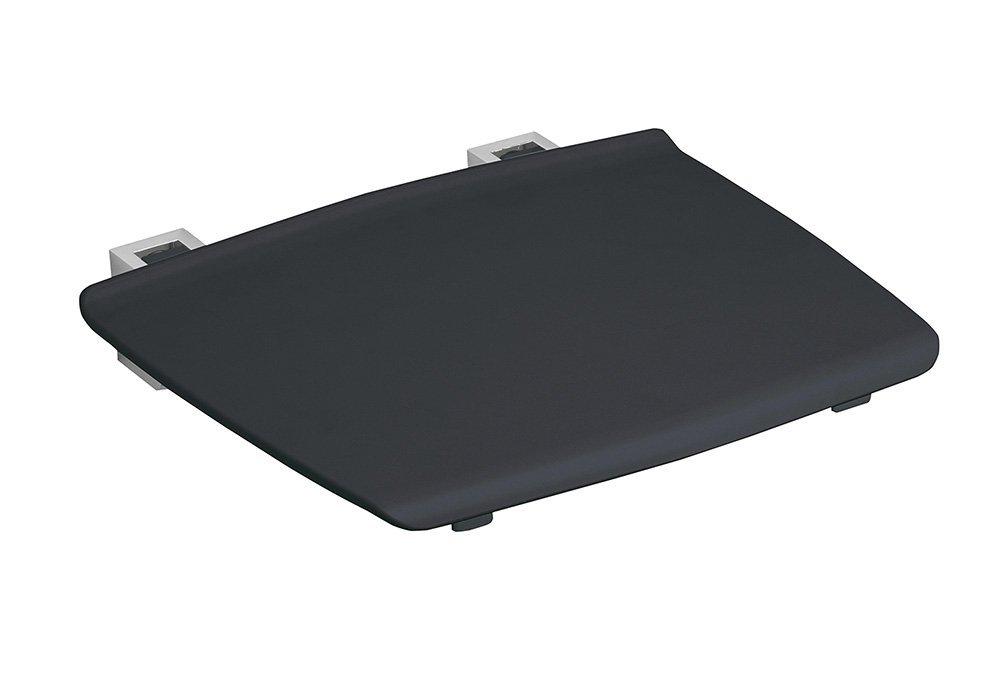 GELCO sklopné sedátko do sprchového koutu 32,5x32,5 cm, tmavě šedá