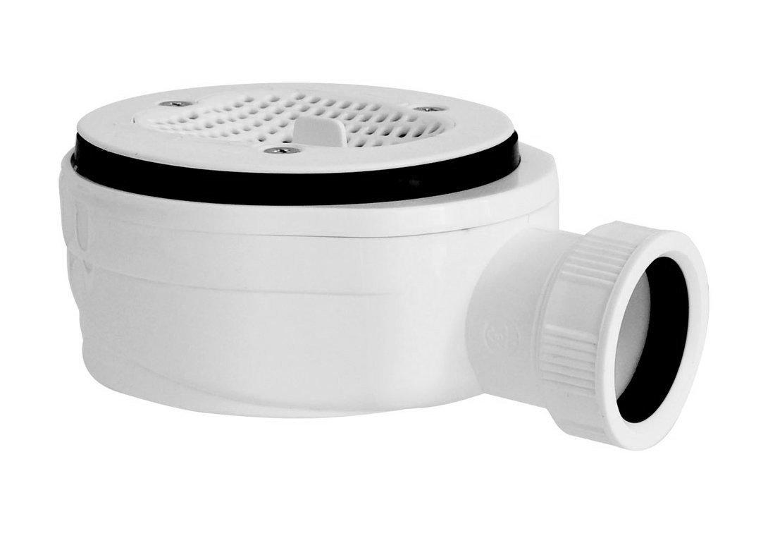 GELCO vaničkový sifon, prům. otv. 90 mm, DN40, extra nízký, pro vaničky s krytem