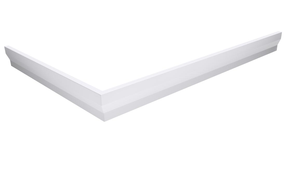 SARA panel čelní 100x75 cm, výška 10 cm, levý