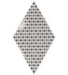 Photo: RHOMBUS WALL Pattern B&W 15,2x26,3 (EQ-20S) (1bal=1m2)