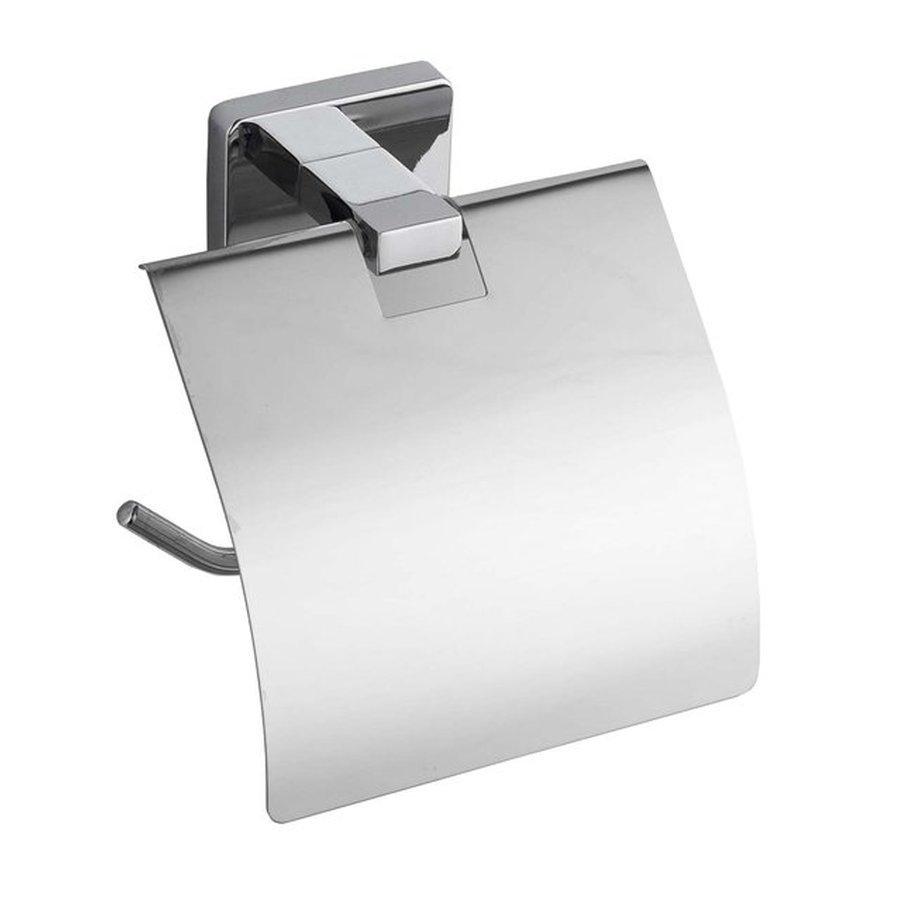 APOLLO držák toaletního papíru s krytem, chrom