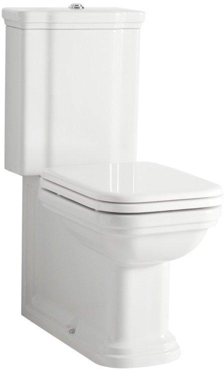 WALDORF WC kombi, spodní/zadní odpad, bílá-chrom